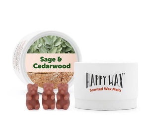 Sage & Cedarwood - Eco Tin