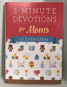 3 Minute Devotions for Mom's