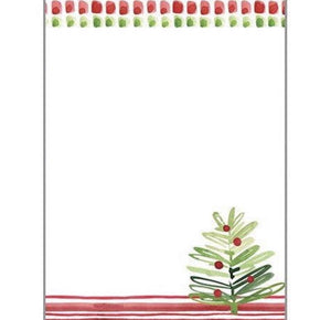 Holiday Memo Pad - Merry Trees