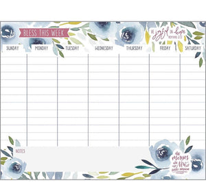 Weekly Planner Pad - Joyful in Hope