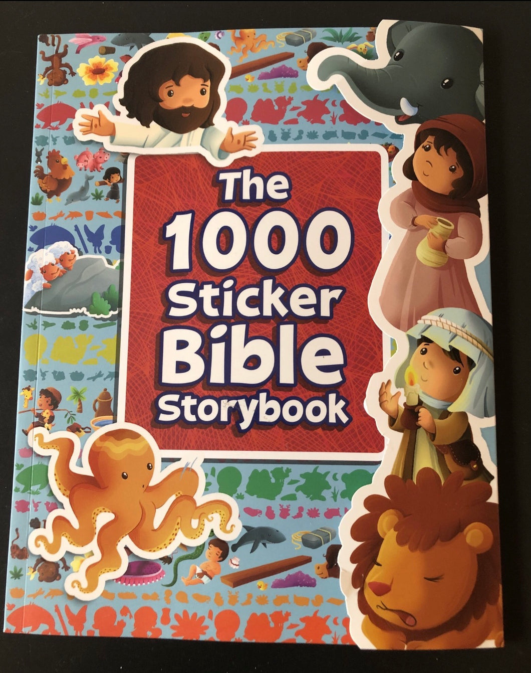 The 1000 Stickers Bible Storybook