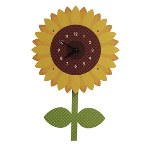 Sunflower Pendulum Clock