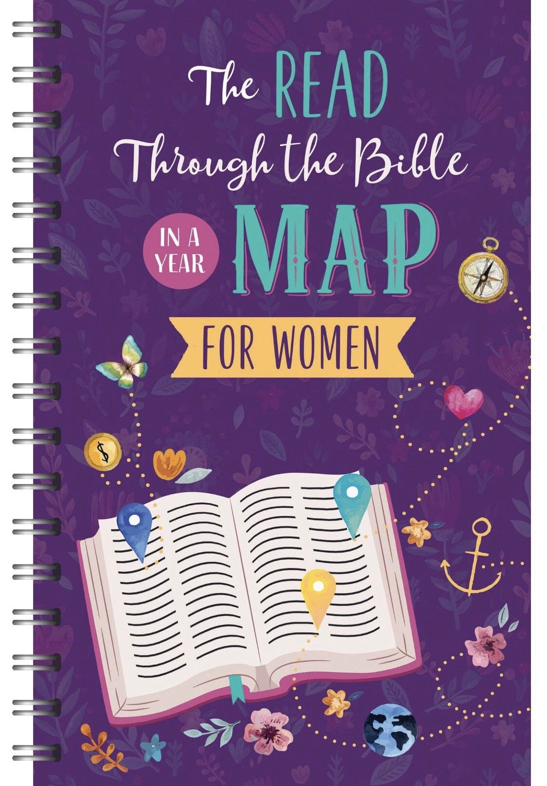 The Read Through the Bible in a Year Map for Women