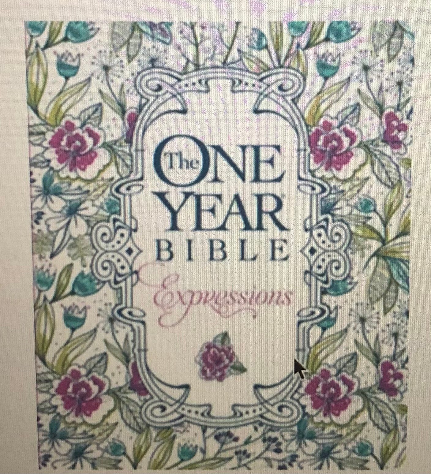 The One Year Bible - Expressions NLT