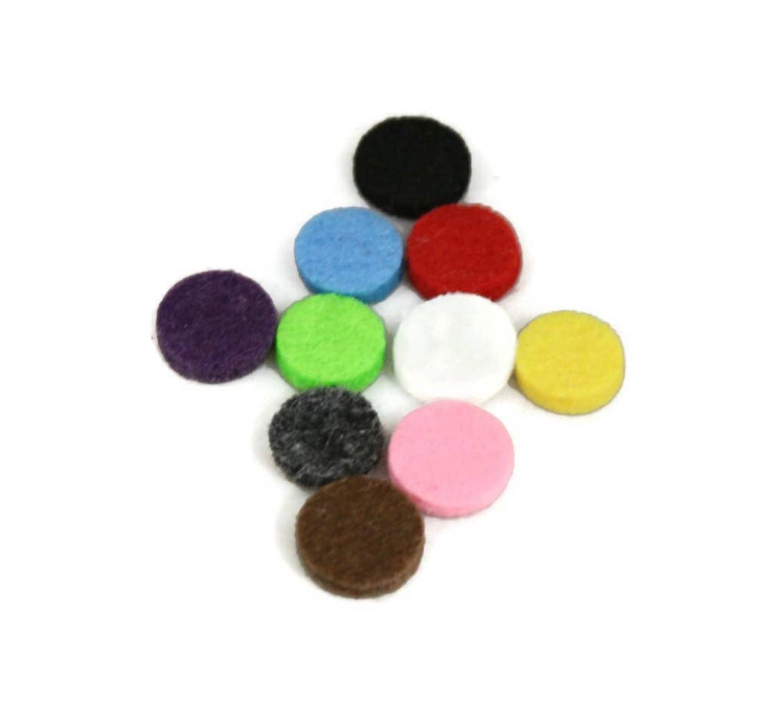 20mm Replacement Felt Essential Oil Diffuser - Set of 10