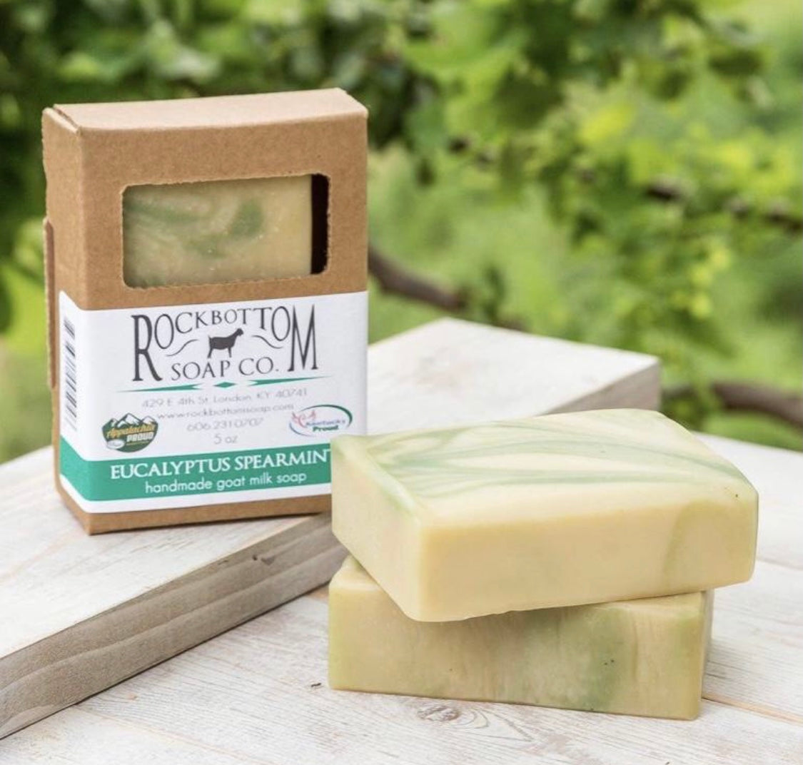 Eucalyptus Spearmint Goat Milk Soap