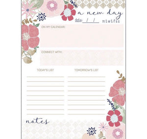 Daily Planner Pad - Kaylyn