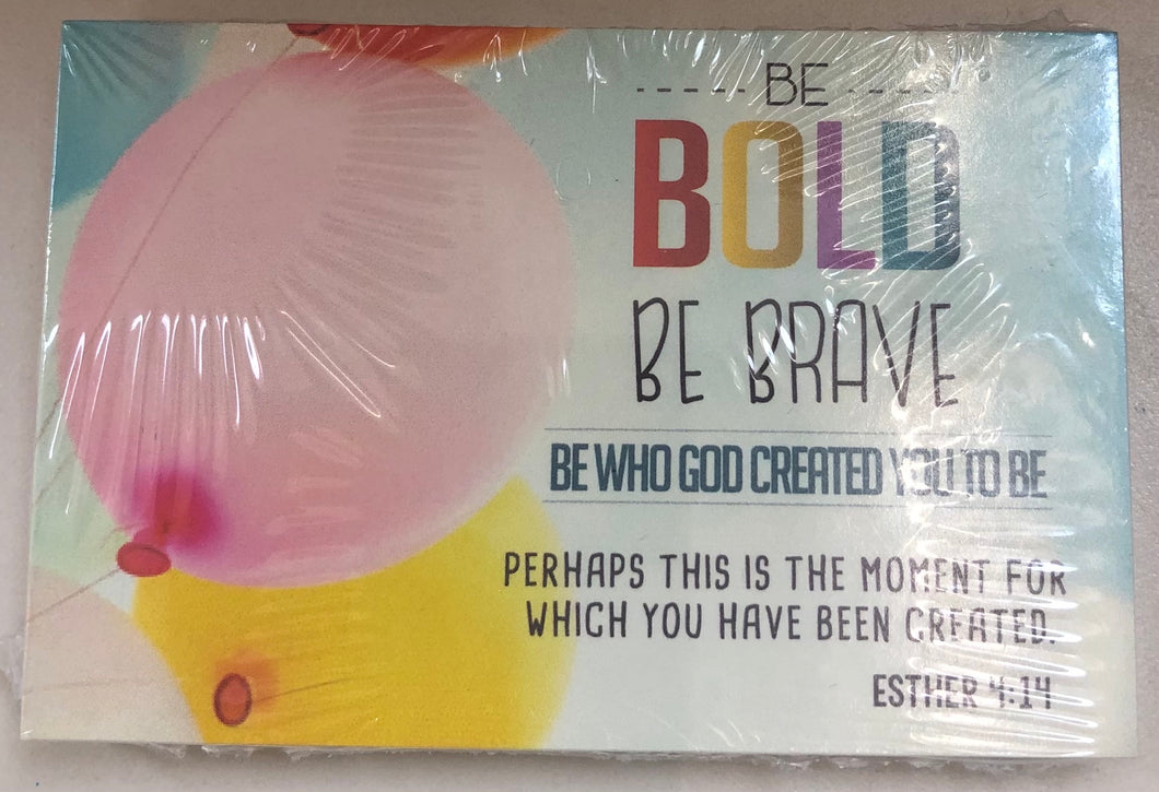 Share Card - Be Bold Be Brave