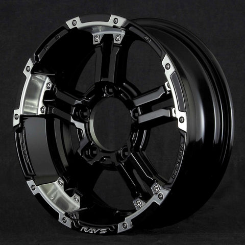 RAYS DAYTONA FDX-J set of Wheels for Jimny TANIGUCHI Gun Metallic