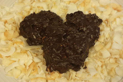 Dark Chocolate Coconut Cluster