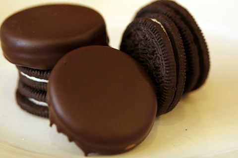 Dark Chocolate Covered Oreos