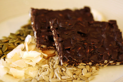 Dark Chocolate Hippie Bark