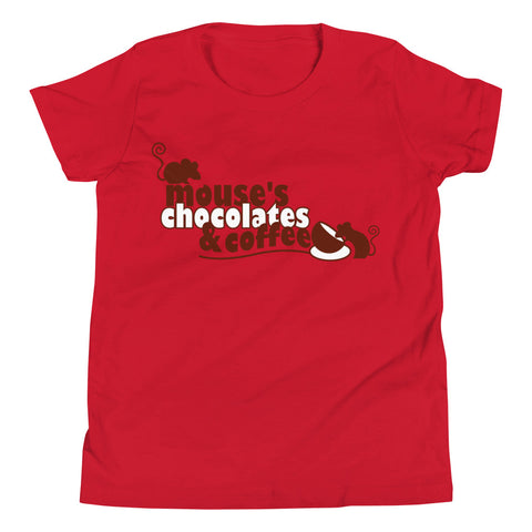 Classic Mouse's Youth Short Sleeve T-Shirt - Mouses Chocolates & Coffees