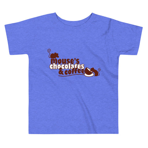 Toddler Classic T Shirt - Mouses Chocolates & Coffees