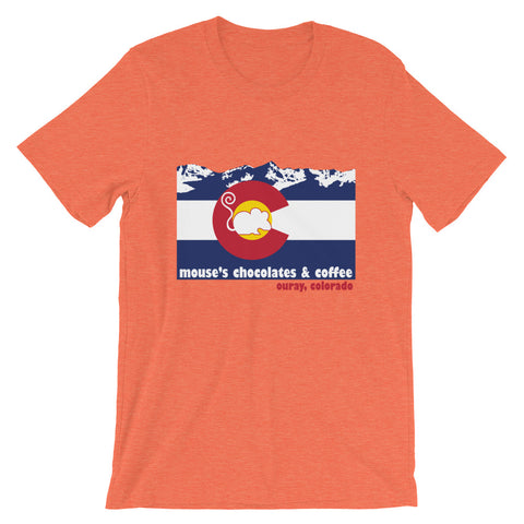 Mouses Colorado T Shirt - Mouses Chocolates & Coffees