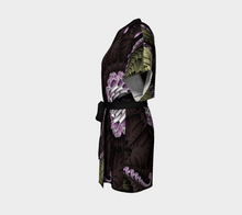 Load image into Gallery viewer, #fractalwraps Chocolate Dream Custom Kimono Robe