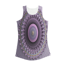 Load image into Gallery viewer, Mindscape Purple Women Performance Tank Top
