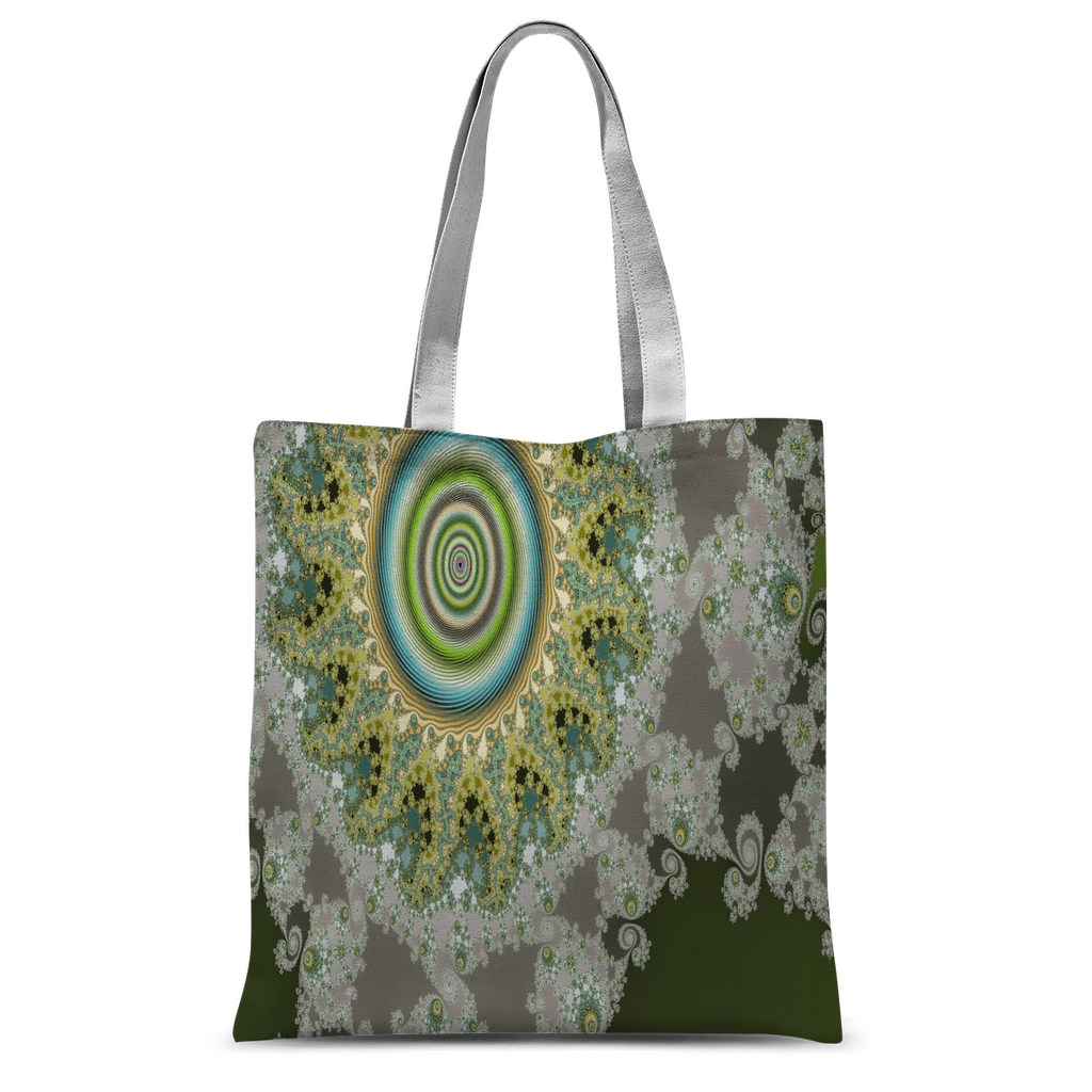 Olive Solar Classic Sublimation Tote Bag