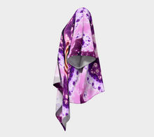 Load image into Gallery viewer, #fractalwraps Pink Purple Pinwheel Custom Draped Kimono