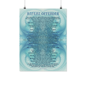 Reality Rhymes Repeat Offender Poster (2 Sz)