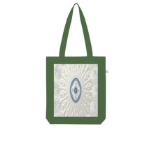 Load image into Gallery viewer, Blue White Cloud Organic Tote Bag