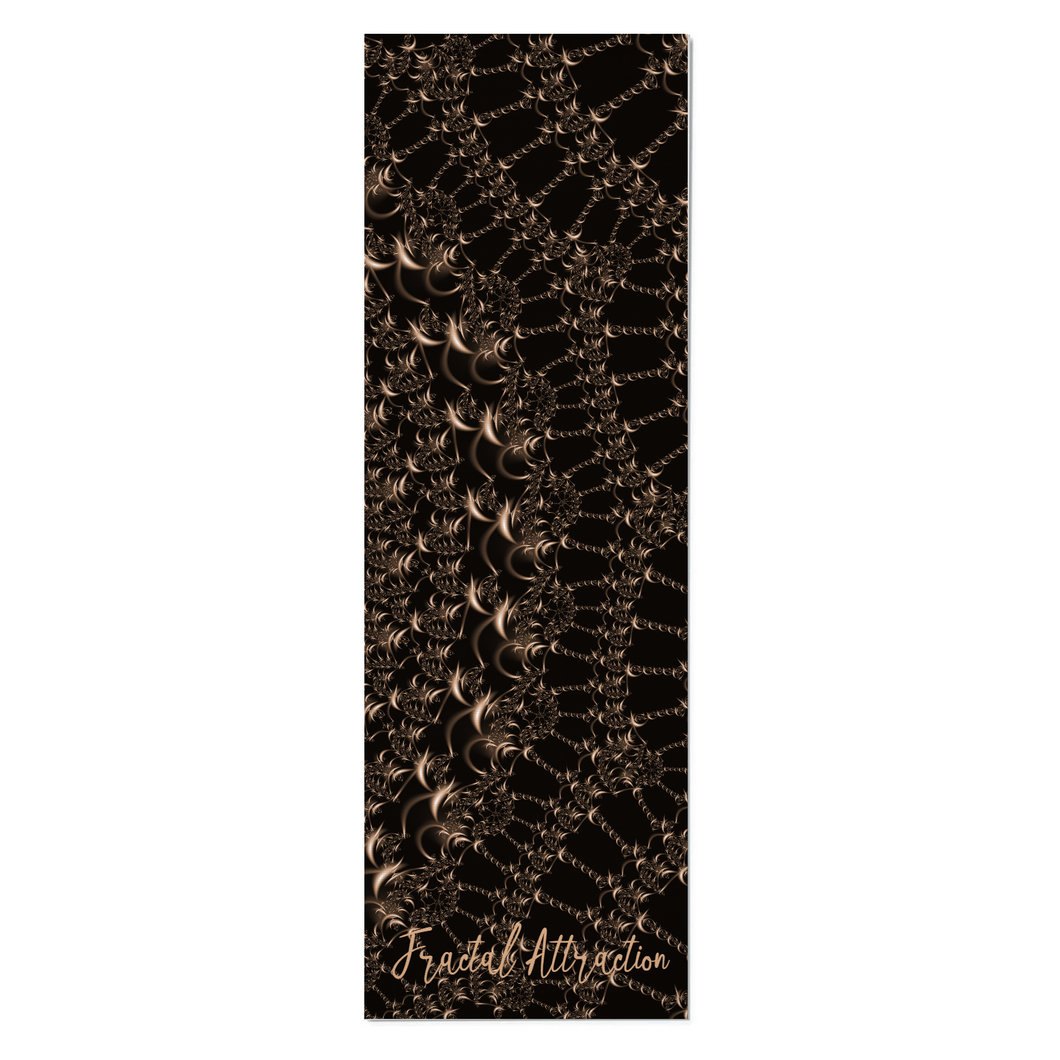 #fractalmats Fine Bronze Custom Yoga Mat with Strap