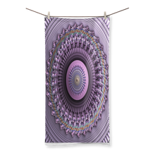 Load image into Gallery viewer, #fractalhouse Mindscape Purple Sublimation All Over Towel
