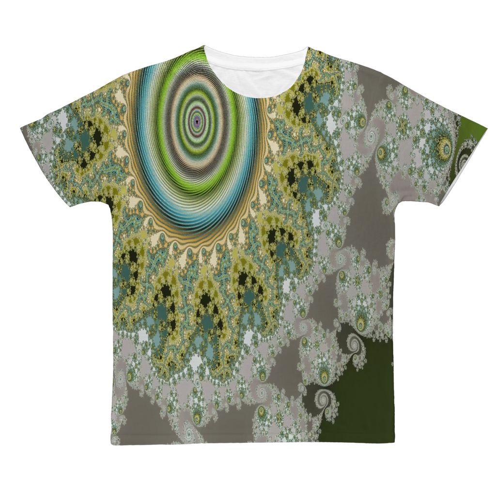 Olive Solar Classic Sublimation Adult T-Shirt