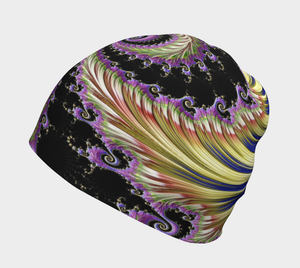 #fractalcaps Purple Groove Baby/Youth/Adult Beanie