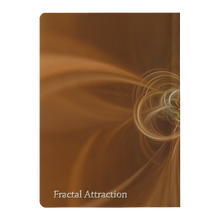 Load image into Gallery viewer, #fractalpads Fluid Gold Paperback Journal