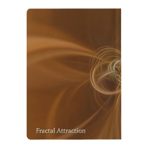 #fractalpads Fluid Gold Paperback Journal