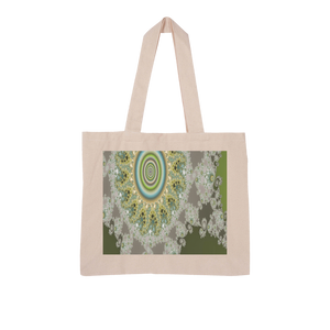 Olive Solar Large Organic Tote Bag