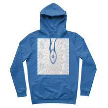 Load image into Gallery viewer, Blue White Cloud Premium Adult Hoodie