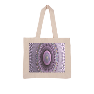 Mindscape Purple Large Organic Tote Bag