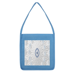Blue White Cloud Classic Tote Bag