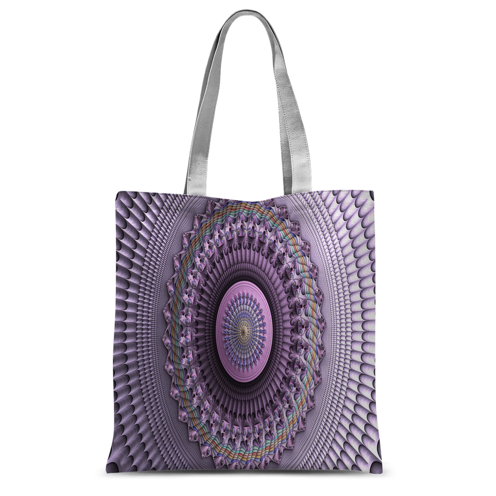 Mindscape Purple Classic Sublimation Tote Bag