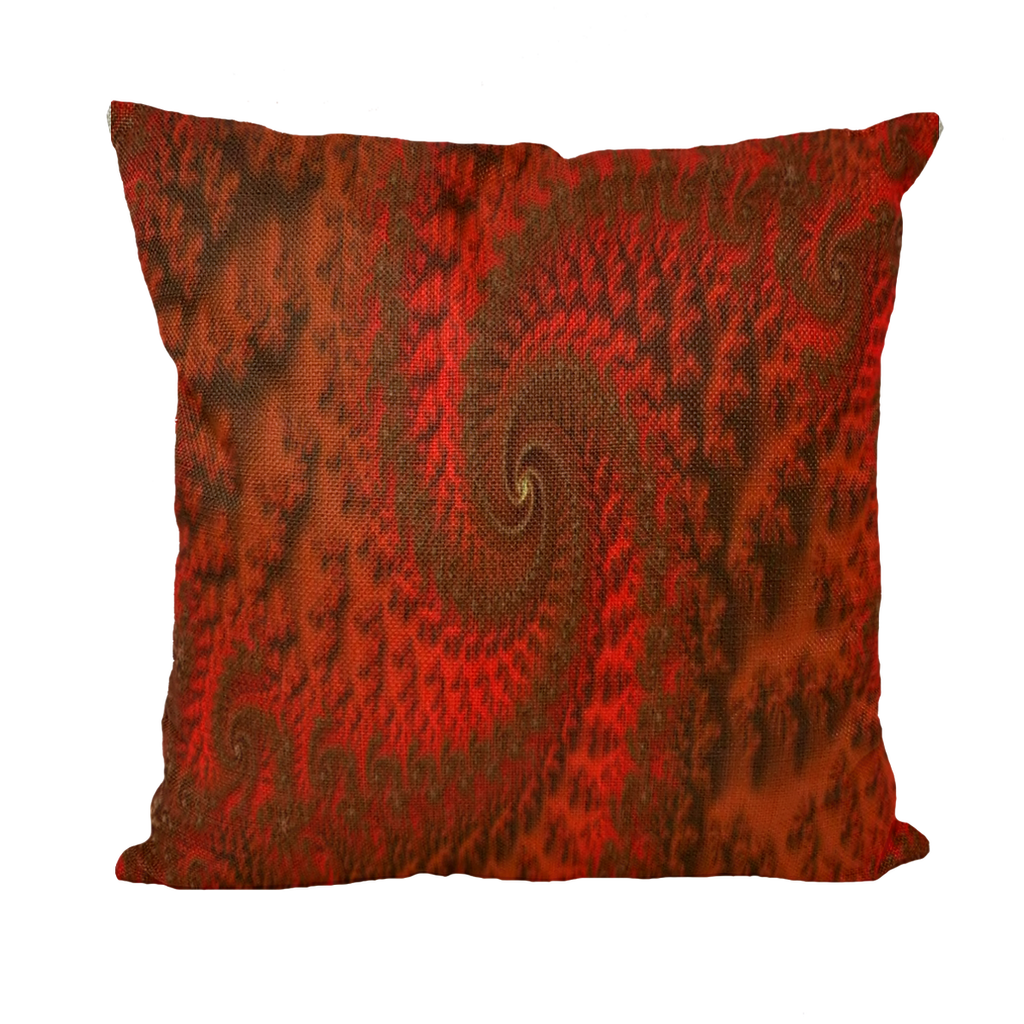 #fractalhouse Red Roads Cushion Covers Insert