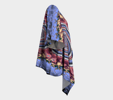 Load image into Gallery viewer, #fractalwraps Regal Rose 2 Custom Draped Kimono