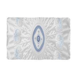 #fractalhouse Blue White Cloud Sublimation Pet Blanket