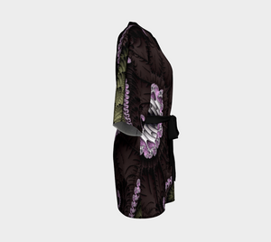 #fractalwraps Chocolate Dream Custom Kimono Robe