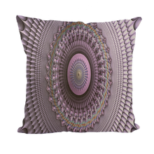 Charger l'image dans la galerie, #fractalhouse Mindscape Purple Throw Pillows
