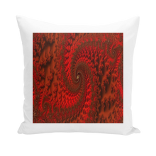 Load image into Gallery viewer, #fractalhouse Red Roads Cushion Covers Insert