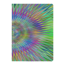 Load image into Gallery viewer, #fractalpads Hippielicious Purple Paperback Journal