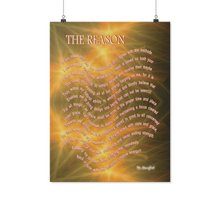 "Load image into Gallery viewer, Reality Rhymes ""The Reason"" Poster (2 Sz)"