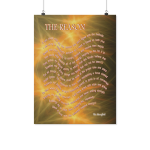 "Reality Rhymes ""The Reason"" Poster (2 Sz)"