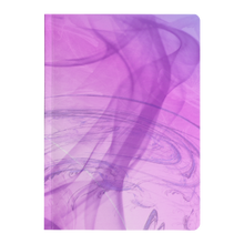 Load image into Gallery viewer, #fractalpads Pink Wisps Paperback Journal