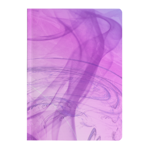 #fractalpads Pink Wisps Paperback Journal