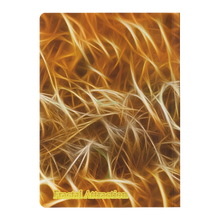 Load image into Gallery viewer, #fractalpads Wheat Fields Paperback Journal