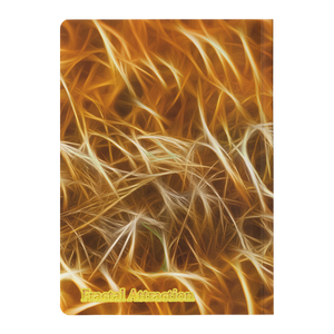 #fractalpads Wheat Fields Paperback Journal