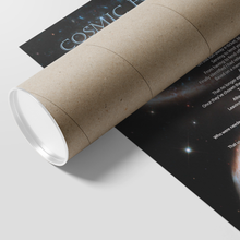 "Charger l'image dans la galerie, Reality Rhymes ""Cosmic Forces"" Poster (2 Sz)"
